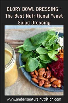 Salad Dressing Recipes, Salad Recipes, Glory Bowl Dressing, Clean Eating Recipes, Cooking Recipes, Tahini Paste, Breakfast Recipes, Dinner Recipes
