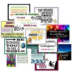 Quote of the Week Classroom Posters and Activities! Your Students Will Love These :)