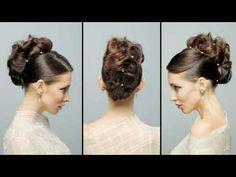 """""""Marti"""" at Sharon Blain long hair styling"""