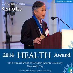 Kenro Izu, 2014 Health Award