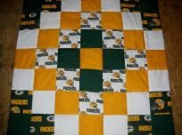 Handmade Green Bay Packers Wall Hanging