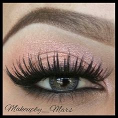 Soft Coral Eyes♥  @makeupby_mars