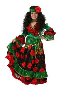 Детский костюм гадалки-цыганки. Купить в интернет-магазине http://fas.st/qlSPM