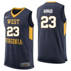 New Products   NCAA West Virginia Mountaineers College Basketball Jerseys f0b3fa751