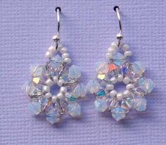 It's All About Creating: Free Beaded Snowflake Pattern