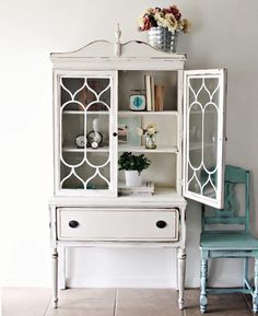Gorgeous cabinet by whiteonthewall!