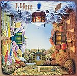 Four Seasons, by Jacek Yerka. Do click through, there's loads more!