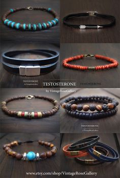 Please Visit our Shop Sections / Collections to Enjoy our Jewellery ! Etsy Jewelry, Jewelry Shop, Jewelry Stores, Jewelry Art, Jewelry Making, Men's Jewellery, Handmade Bracelets, Bracelets For Men, Handmade Jewelry