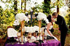 Elegant Tim Burton Inspired Wedding Inspiration