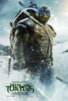 Trailer 2 and Character posters for Teenage Muntant Ninja Turtles