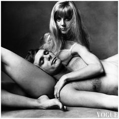 Blythe Danner and Keir Dullea Irving Penn, Vogue, January 01, 1970