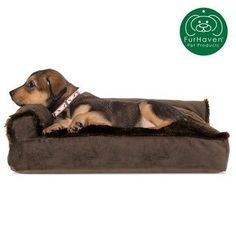 Furhaven Small Plush And Velvet Deluxe Chaise Lounge Pillow Sofa-Style Pet Bed- Sable Brown 24236401 Velvet Chaise Lounge, Chaise Lounges, Pillow Drawing, Cheap Pillows, Dog Beds For Small Dogs, Dog Pillow Bed, Sofa Styling, Buy Pets, Sofa Pillows