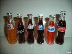 Botellitas De Soda, Refrescos en Miniatura