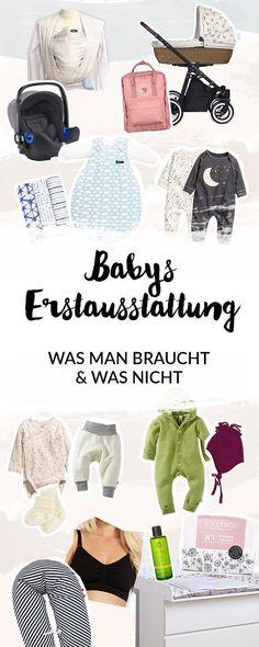Erstausstattung | Baby | Was man braucht und was nicht | Wickeln | Babypflege | Kleidung | Stillen | Unterwegs | Neugeborenes