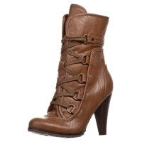 even&odd brown ankle boots