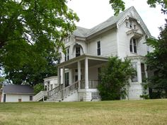 Historic William B. Williams House, Lapeer, MI. As of April 2015, this historic home has a date with the wrecking ball. In this home lived the daughter of a town founder, she was born in the house next door. She was responsible for making advances in women's rights and the rights of the disabled. This house is not only town history, but US history. It also was the home to the beloved Dr. Donna.