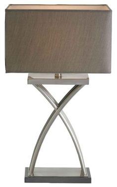 RV Astley Kiara Nickel Table Lamp