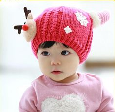Smart Hot New 1 Pc Cute Baby Winter Hat Warm Child Beanie Cap Animal Cat Ear Kids Crochet Knitted Hat For Children Boys Girls Girl's Hats Apparel Accessories