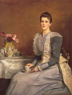 Sir John Everett Millais, 1891, Mary Chamberlain. Oil on canvas. Birmingham Museum and Art Gallery