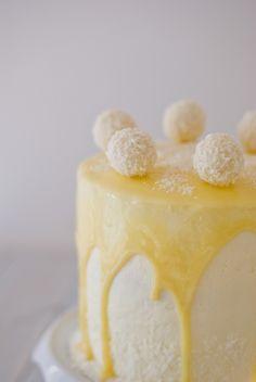 Layer cake noix de coco Raffaello