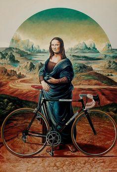 Mona Dwa Kółka Lisa