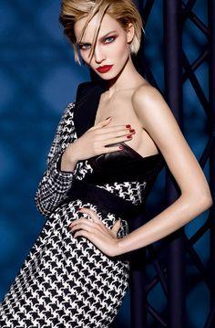 Sasha Luss for Dior Beauty Fall Winter 2014
