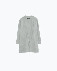 KNITTED CARDIGAN - View all - Knitwear - WOMAN | ZARA United States