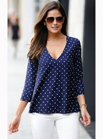 Models of blouses that are using bag models blusas, blusas d Casual Outfits, Fashion Outfits, Womens Fashion, Fashion Shirts, Winter Typ, Pulls, Casual Tops, My Wardrobe, Plus Size