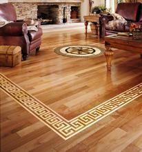 sheet vinyl flooring wood inlay - Google Search