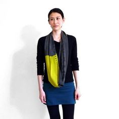 xsilk designer Dani K blurs the line between fashion and art with her hand-dyed silk creations. The Brooklyn-based brand crafts limited-edition design works using a manual dyeing technique. The result is a line of wearable masterpieces in the form of colorful, trendy tops and cowls.