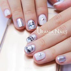 Mani Pedi, Manicure And Pedicure, Garra, Evil Eye Nails, Korean Nails, Beauty Nails, Summer Nails, Cute Nails, Nail Colors