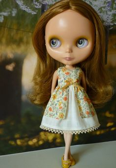 Blythe Babydoll Dress Peaches and Cream by PamsPrettyDesigns, $24.00