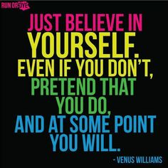 it's all about BELIEF!