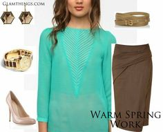 Warm Spring Color Palette | GlamThings