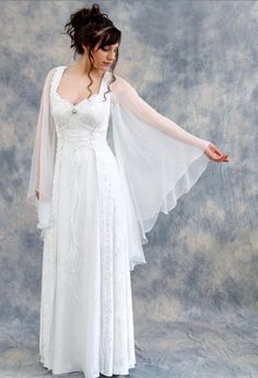 Medieval and Celtic Wedding Gowns | Custom Storybook Wedding Gowns | Canadian, Maritime, Fairytale | Faerie Brides |