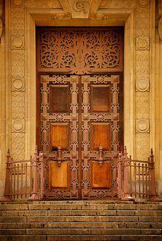 Doorway in Paris.
