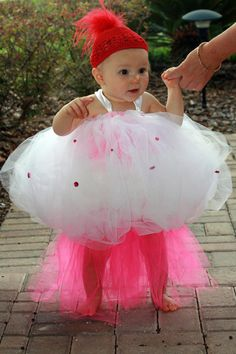 Sweet little cupcake sewn tutu costume by ATouchofGraceDesigns, $50.00