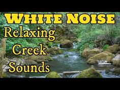 Creek Running Sound Effect for Relaxation | Sleep Sounds - YouTube