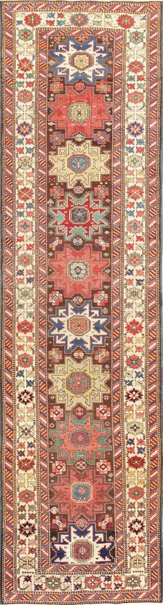 Antique Tribal Caucasian Shirvan Runner 47459 Main Image - By Nazmiyal  http://nazmiyalantiquerugs.com/antique-rugs/antique-caucasian-rugs/antique-tribal-caucasian-shirvan-runner-47459/