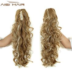 Synthetic Ponytails Energetic Soowee Curly Claw Ponytail Hairpins Hairpieces Synthetic Hair Blonde Burgundy Clip In Hair Extensions Pony Tail Hair Roller