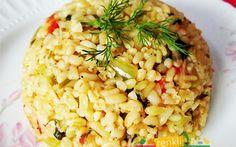 Sebzeli Bulgur Pilavı sebzeli bulgur pilavı,pilav tarifleri,vegetable bulgur,растительное булгур,Gemüse Bulgur http://renkliyemektarifleri.com/sebzeli-bulgur-pilavi