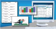 A software database of over 3650 contemporary therapeutic exercises available to health professionals. We also provide fitness assessment software, nutrition software and a web based exercise software called Exercise Pro Live.