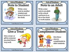 Kindness Task Cards