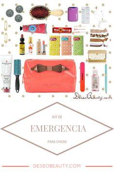 Qué llevar en el neceser del bolso: Kit de supervivencia para chicas