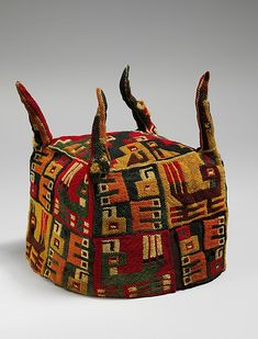 Four-Cornered Hat Date: 5th–9th century Geography: Peru Culture: Wari Medium: Camelid hair