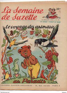 Maurice de la Pintière, La Semaine De Suzette N°34 Ou Est Ton Bâton Fée Carabosse - Rallye Semaine De Suzette 1953 - Le Neveu Du Sénégal