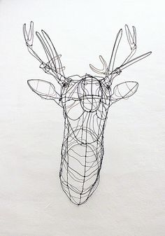 wire sculpture by Elena Fregni