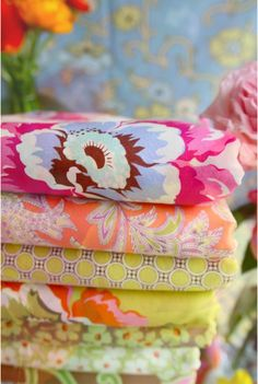 I love bright colors and fun patterns!
