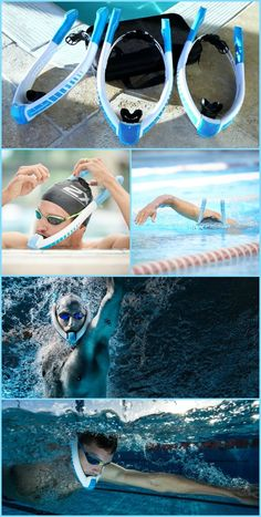 Breathe in 100% fresh air freely underwater as never before while swimming.