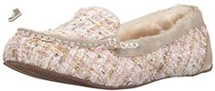 BOBS from Skechers Women's Bobs Cozy JR Sole Mate Flat, Natural Woven, 6 M US - Skechers flats for women (*Amazon Partner-Link)